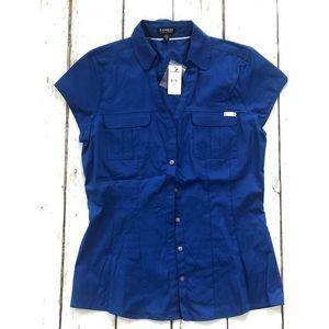 Express Short Sleeve Dress Shirt